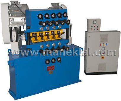 Manek - pipe / tube straightening machine - Maneklal