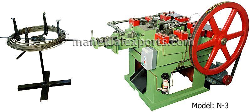 Wire Nail Making Machine Model N 3
